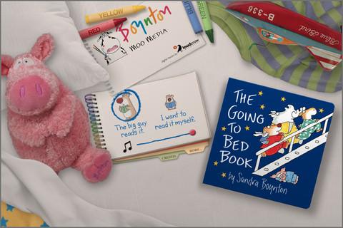 Moo Media book opening screen