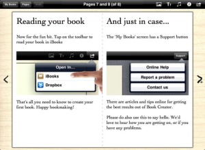 create books - how to share your iBook