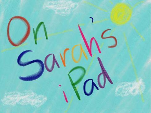 On Sarah's iPad
