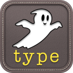 Ghost type by demografix app icon