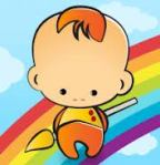 Baby Learns Colors app icon