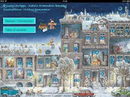 Advent Calendar 2012 by JustKidsApps - main screen.
