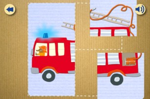 My First App Vol 1 Vehicles - puzzle activity