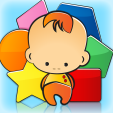 baby learns shapes app icon