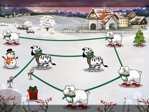 The new Christmas set of puzzles is FREE.